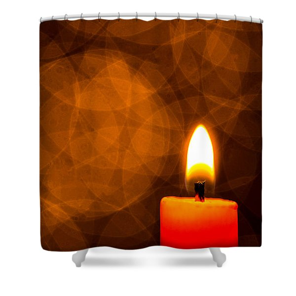 By Candle Light Shower Curtain