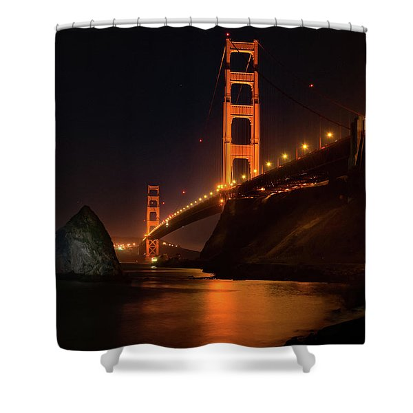 By The Golden Gate Shower Curtain
