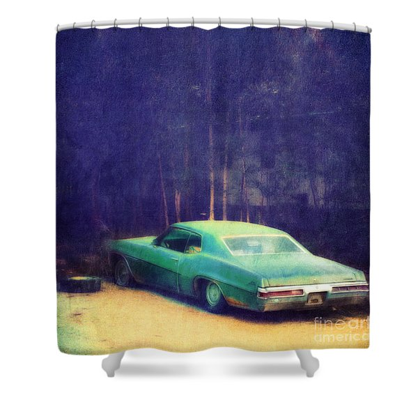 The Old Car Shower Curtain