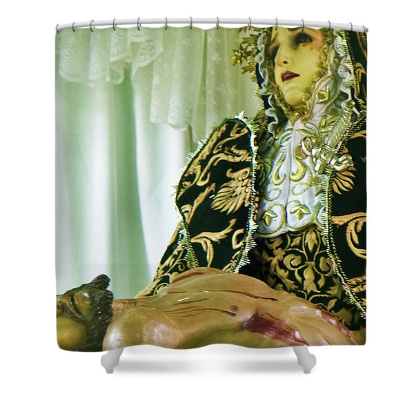 C28 Shower Curtain