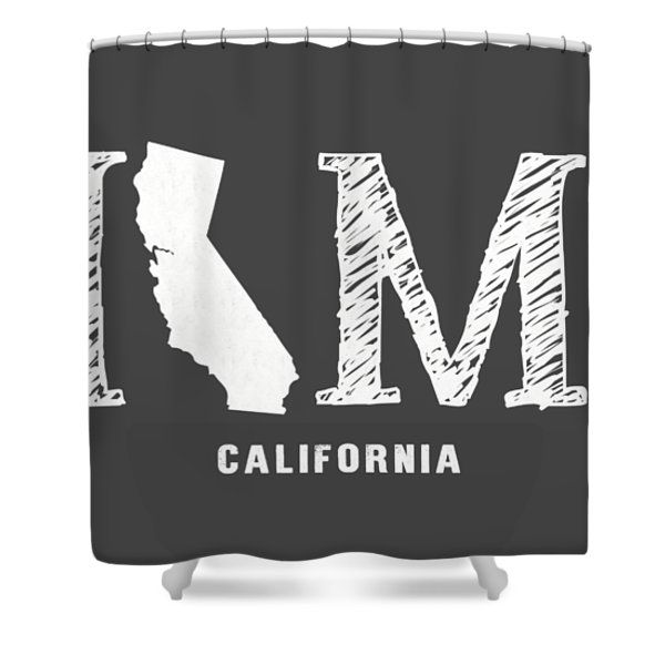 Ca Home Shower Curtain