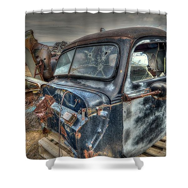 Cab Shower Curtain