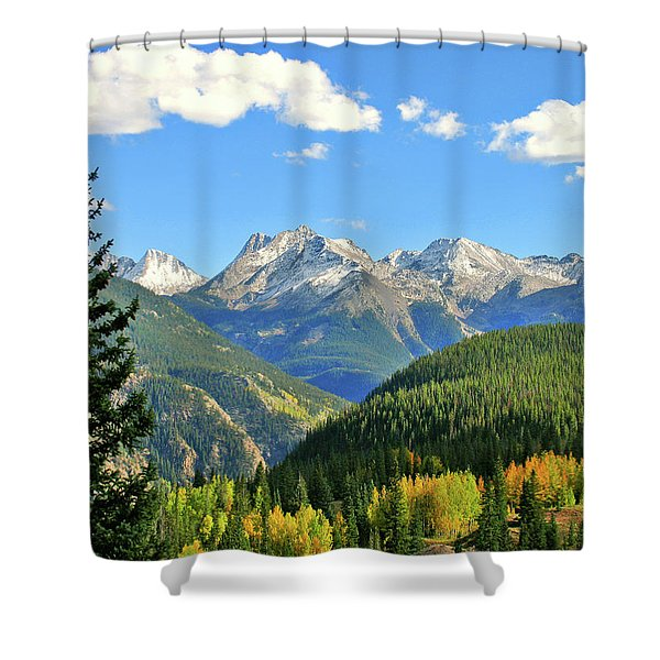 Cabin In The San Juans Shower Curtain