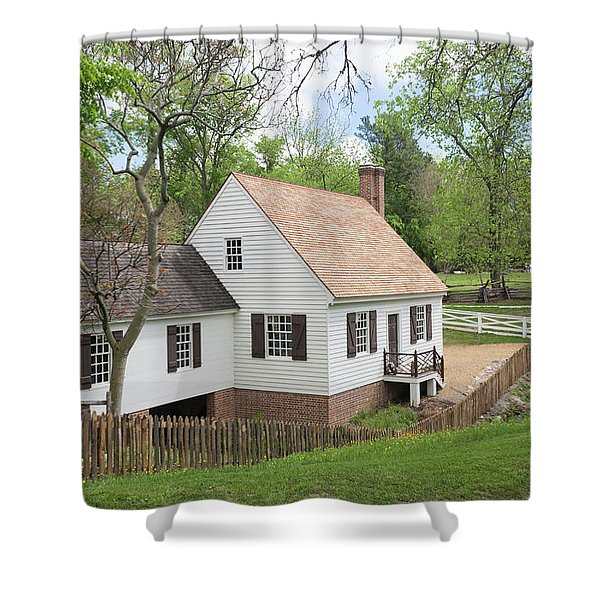 Cabinet Makers Shop Shower Curtain