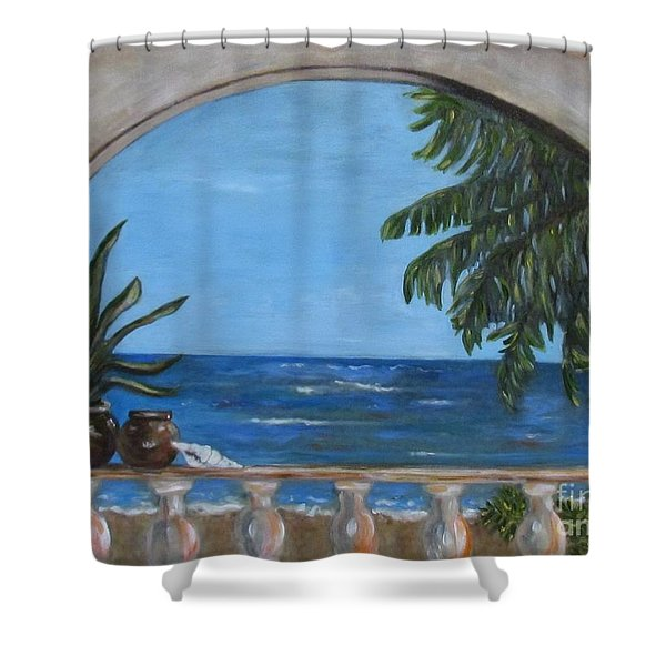 Cabo Arch #2 Shower Curtain