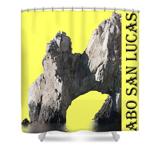 Cabo San Lucas Archway Shower Curtain