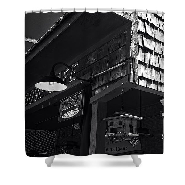 Bar B Que Caboose Cafe Shower Curtain