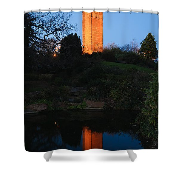 Cabot Tower, Bristol Shower Curtain