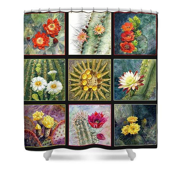 Cactus Series Shower Curtain