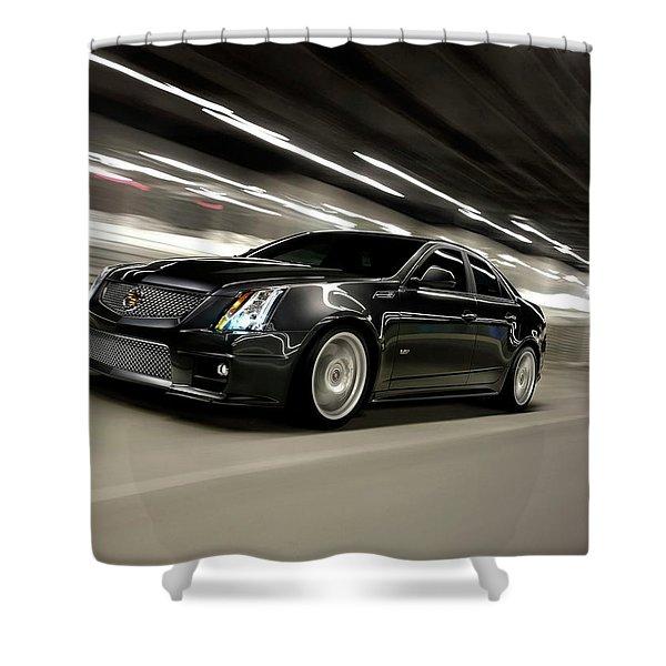 Cadillac Cts-v Shower Curtain