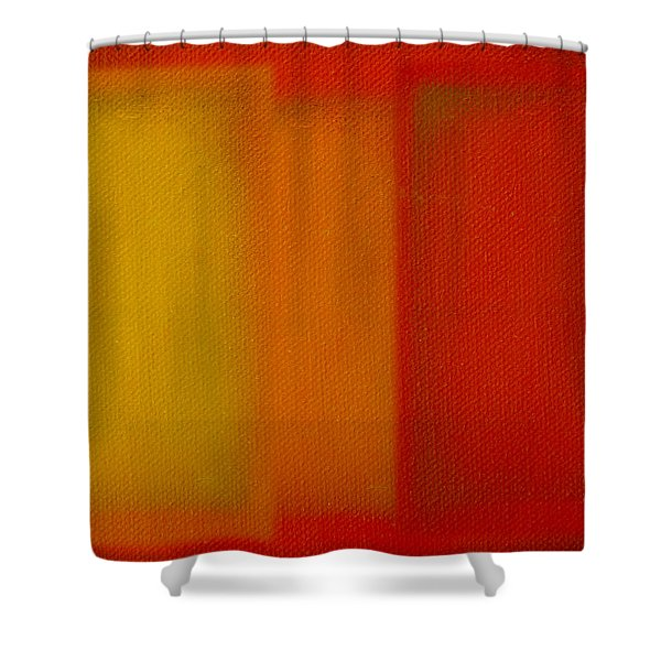 Cadmium Lemon Shower Curtain