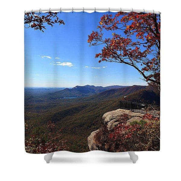 Caesars Head State Park In Upstate South Carolina Shower Curtain