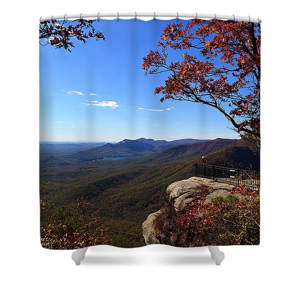Caesars Head State Park In Upstate South Carolina Shower Curtain