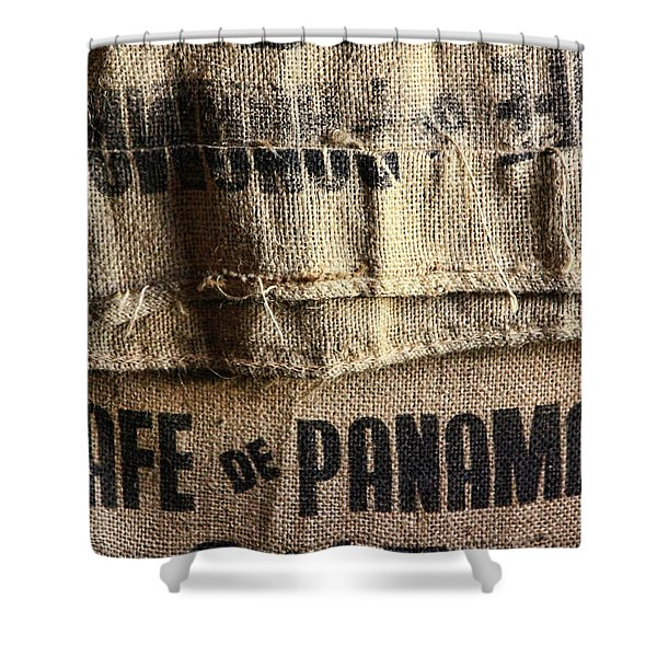 Cafe De Panama Shower Curtain