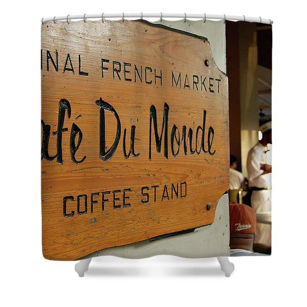 Cafe Du Monde Shower Curtain