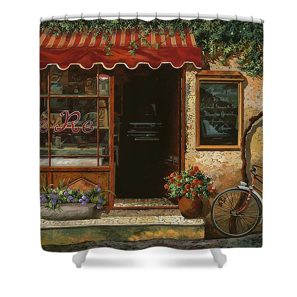 caffe Re Shower Curtain