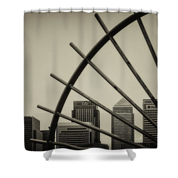 Caged Canary Shower Curtain