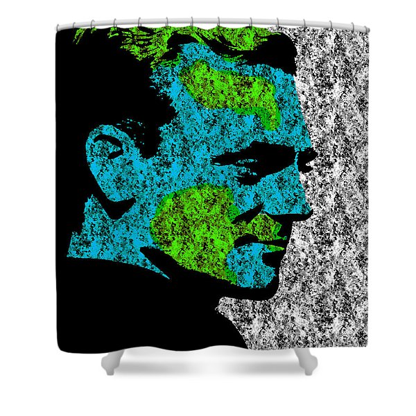 Cagney 3 Shower Curtain