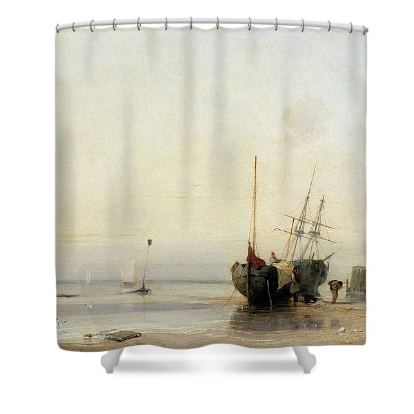 Calais Pier Shower Curtain