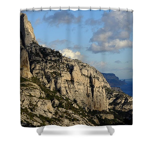 Calanque De Sugiton Shower Curtain