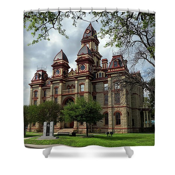 Caldwell County Courthouse Shower Curtain