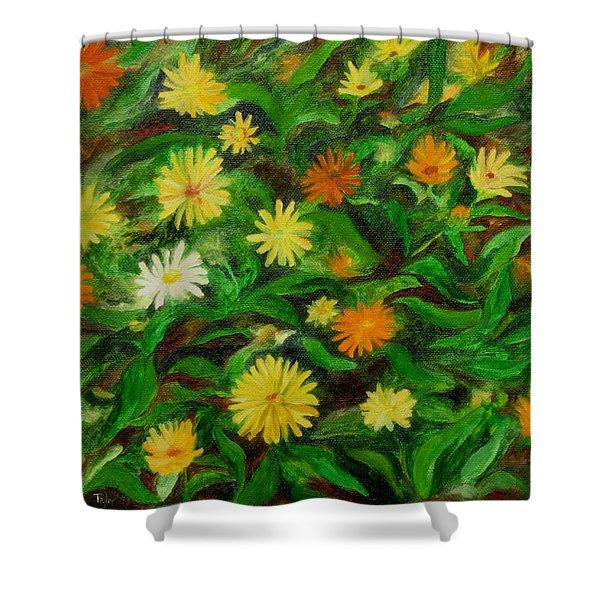 Calendula Shower Curtain