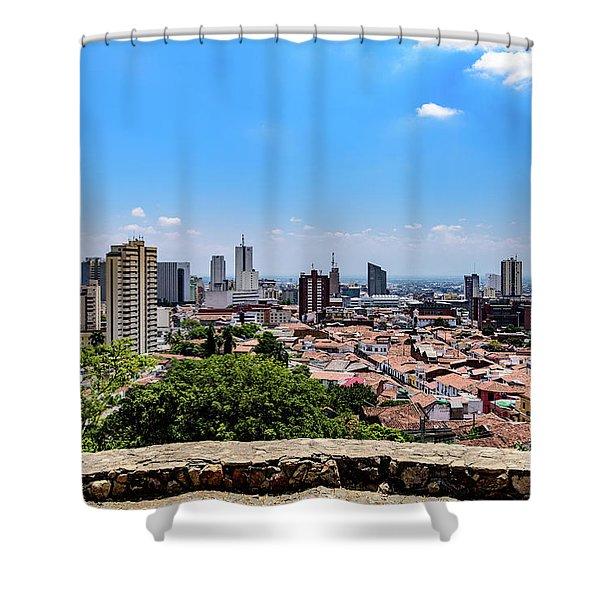 Cali Skyline Shower Curtain