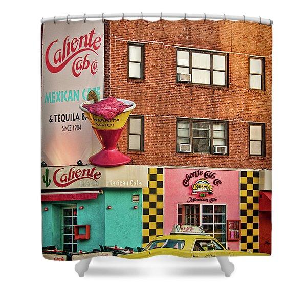 Caliente Cab Shower Curtain