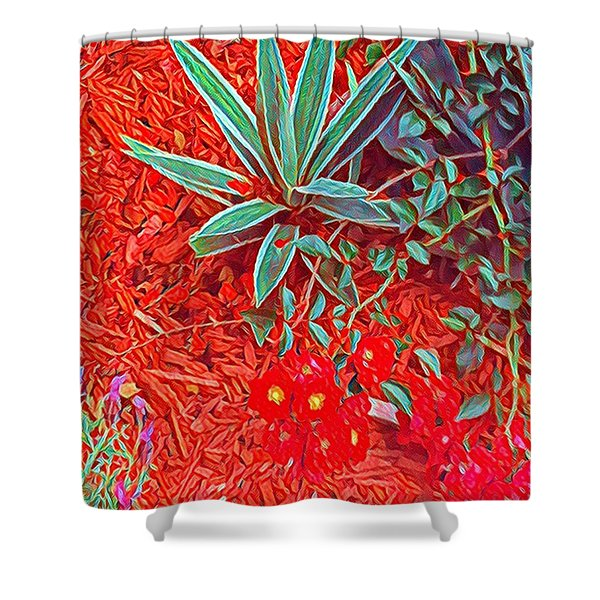 Caliente Shower Curtain