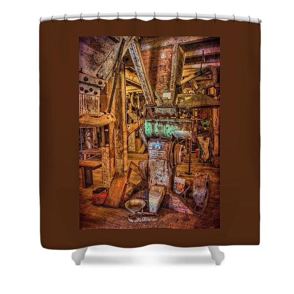 California Pellet Mill Co Shower Curtain