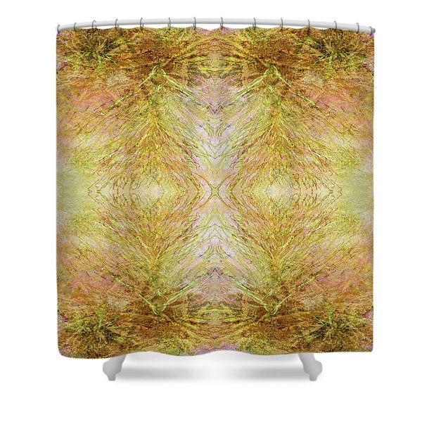 California Spring Inner Reflection Shower Curtain