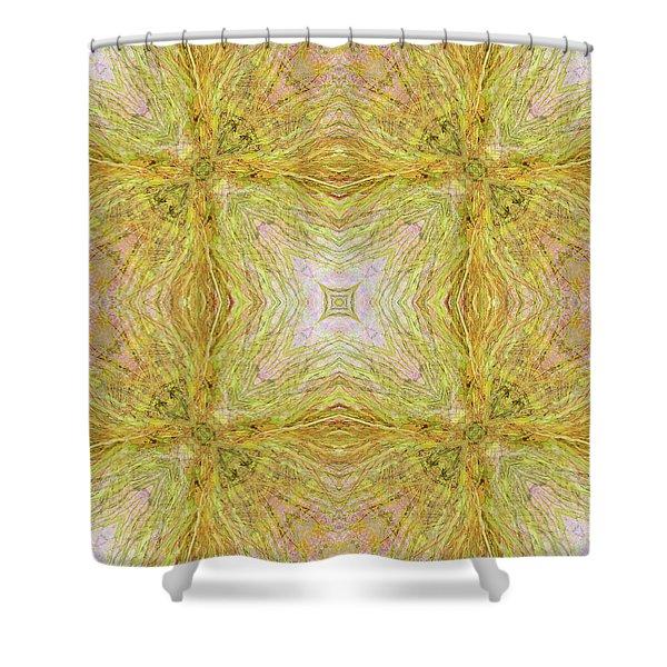 California Spring Oscillation Field Shower Curtain