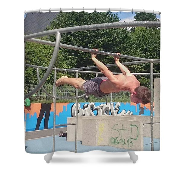 Hangman Shower Curtain