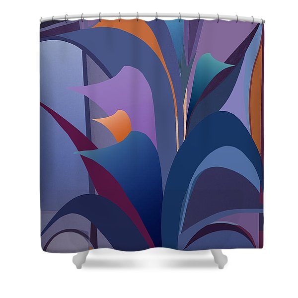 Calla Collection Shower Curtain