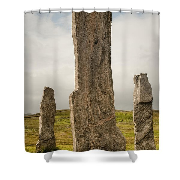 Callanish Standing Stones Shower Curtain