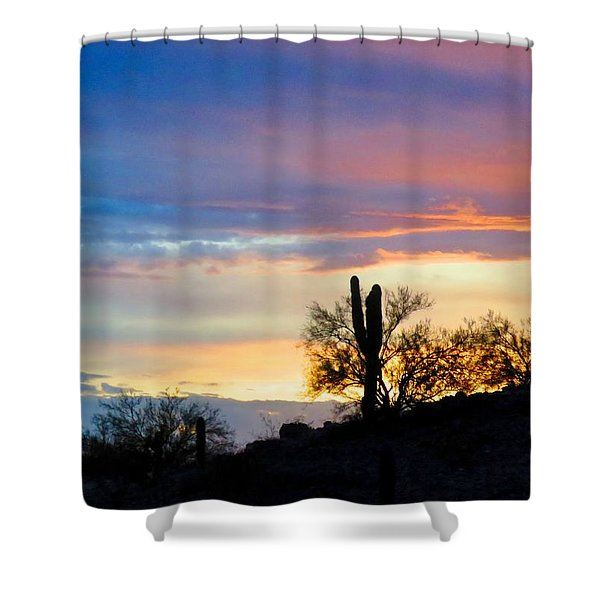 Calling  Shower Curtain