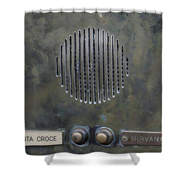 Calling On Nirvana Shower Curtain