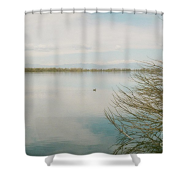 Calm Tranquility Shower Curtain