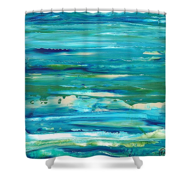 Calmness Shower Curtain