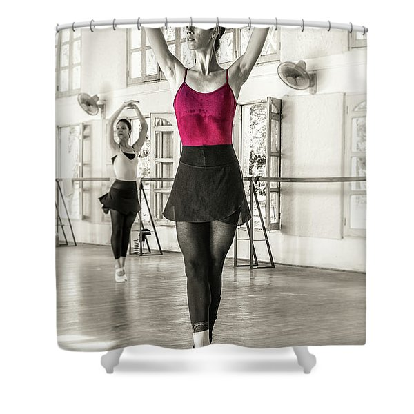 Camaguey Ballet 1 Shower Curtain