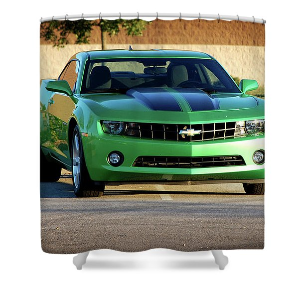 Camaro Origional Shower Curtain