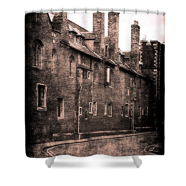 Cambridge, England Shower Curtain