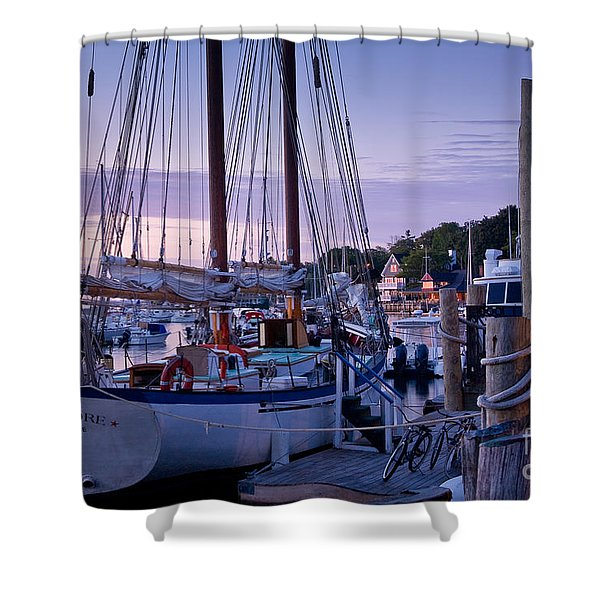 Camden Windjammer Dawn Shower Curtain