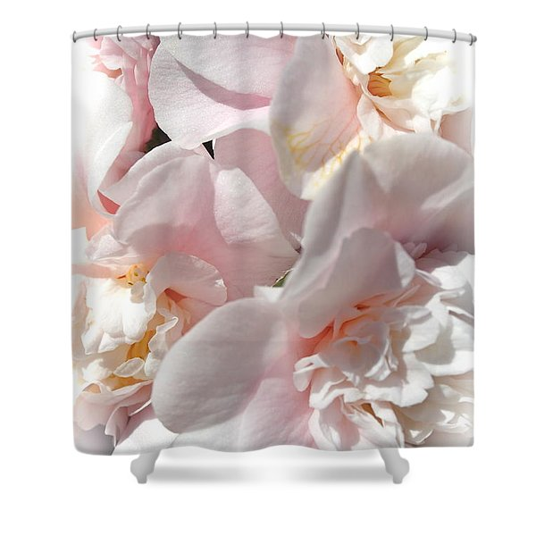 Camellias Softly Shower Curtain