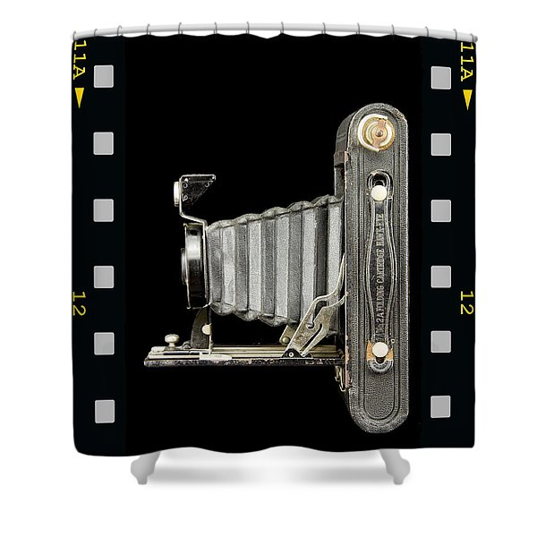 Camera Close Up-5 Shower Curtain