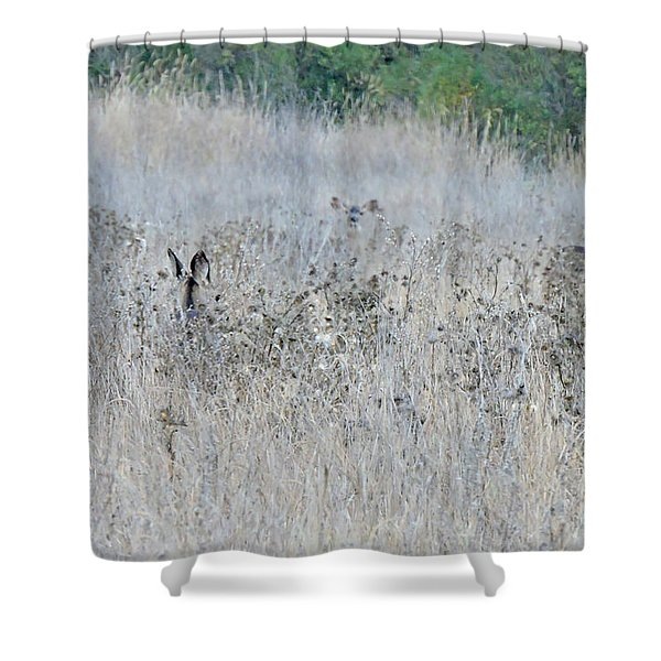 Camouflaged Shower Curtain