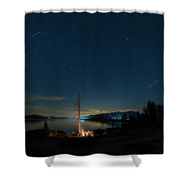 Campfire 1 Shower Curtain