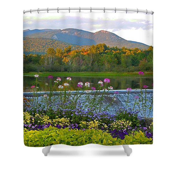 Campton Pond Campton New Hampshire Shower Curtain