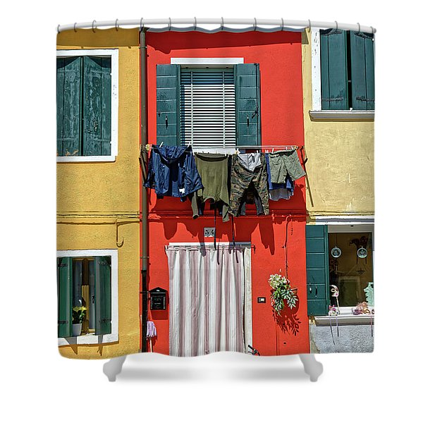 Can I Leave The Bike Outside? Shower Curtain