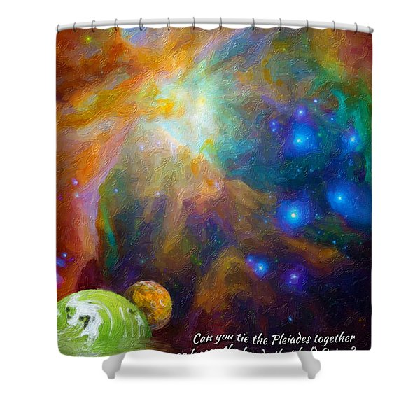 Can You Tie The Pliades Together? Shower Curtain